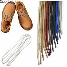 """Круглые шнурки, шнурки для обуви, рабочие кожаные сапоги для гусеницы, кошки, 31,"""" 39"""""""
