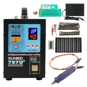 Image 1 - 737G Upgraded Version 737G+ Spot Welder Machine For 18650 Batteries Nickel Strip Connection High Power Pulse Welding Pen