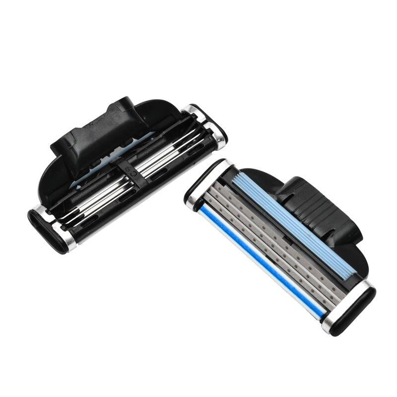 12pcs/lot Razor Blades Compatible For Mache 3 Machine Shaving Razor Blade For Men Face Care