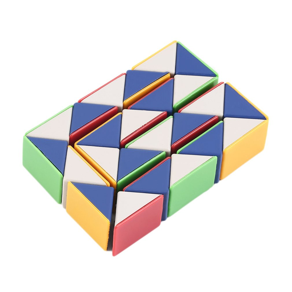 YKS Snake Magic 3D Cube Game Puzzle Twist Toy Party Travel Family Child Gift New Sale