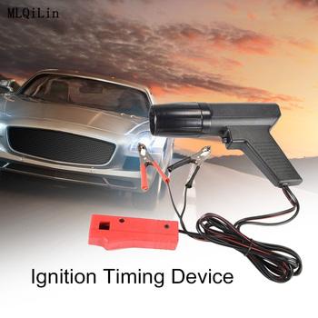 12V profesjonalny samochód silnik motocyklowy rozrządu światła zapłonu światła drogowe rozrządu światło stroboskopowe indukcyjny czujnik rozrządu tanie i dobre opinie CN (pochodzenie) Engine Ignition Timing Divice