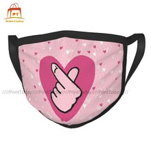 Kpop Facial Mask Funny Adults Breathable Luxury Polyester Face Mouth Mask