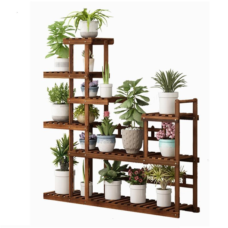 Escalera Terraza Varanda Estante Para Flores Stojaki Indoor Stojak Na Kwiaty Outdoor Flower Stand Dekoration Rack Plant Shelf
