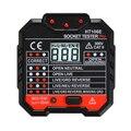 Новый профессиональный тестер электрических розеток 48-250 В УЗО штепсельная вилка США тестер напряжения переключатель утечки детектор тест...