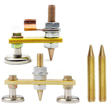 Magnetic Welding Ground-Clamp Strong Suction Copper-Tail Large