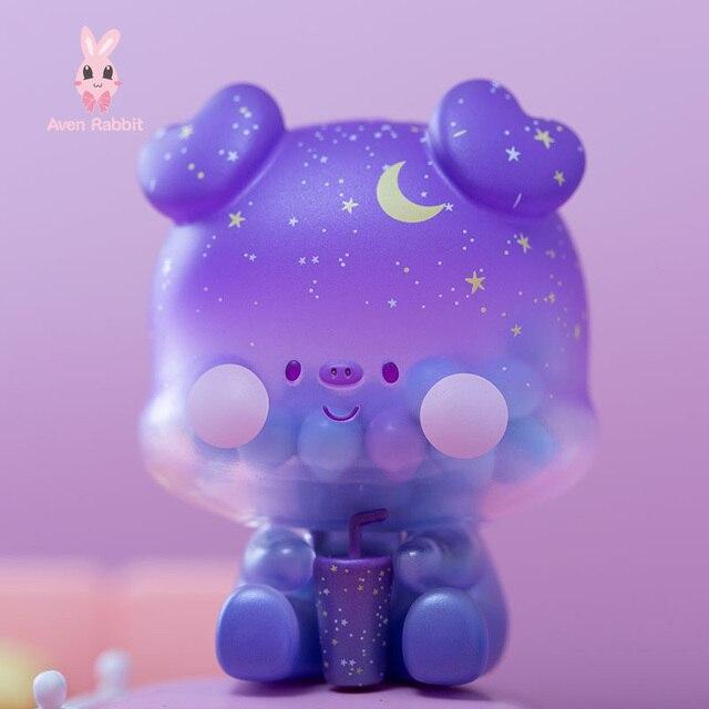 Cola Pig Blind Box Toys Guess Bag Caja Ciega Blind Bag Toys for Girls Anime Figures Cute Desktop Ornaments Model Birthday Gift 1