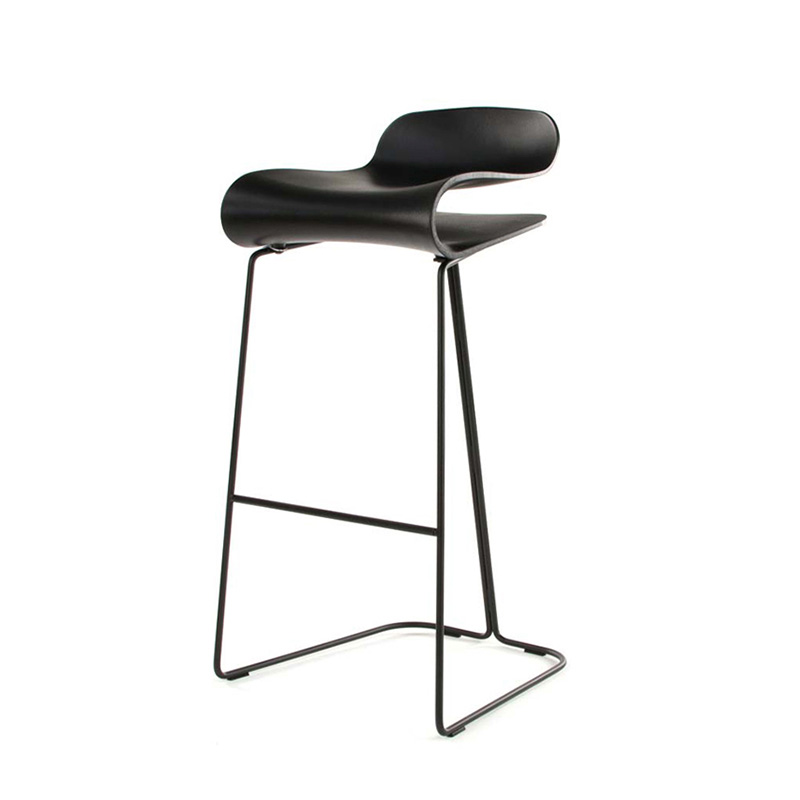 Bar Chair Nordic Modern Minimalist Wrought Iron Bar Chair Home High Stool Cafe Bar Chair Front High Chair