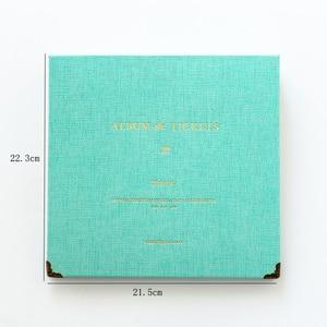 Image 5 - แฟชั่น DIY อัลบั้มคอนเสิร์ตตั๋วเงินกระดาษหนังสือ PU หนังกระดาษ Interleaf ภาพยนตร์ตั๋วเดินทางคอลเลกชันอัลบั้ม