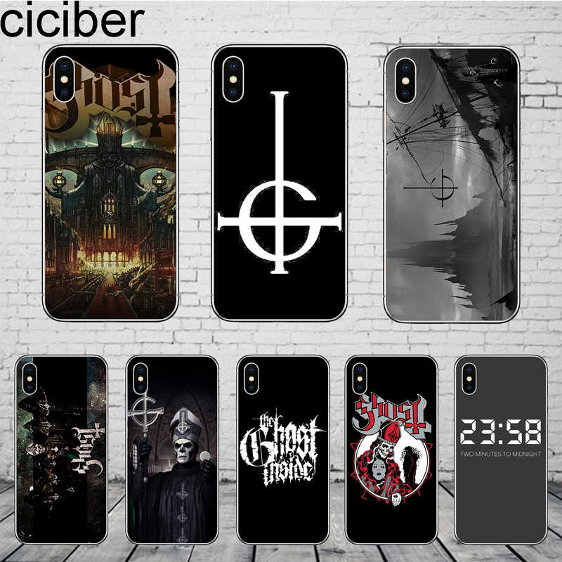ciciber Ghost Band Phone Cases for iPhone 11 Pro Max Cover For iPhone XR 8 7 6 6S Plus X XS MAX 5S SE Soft TPU Shell Coque Funda