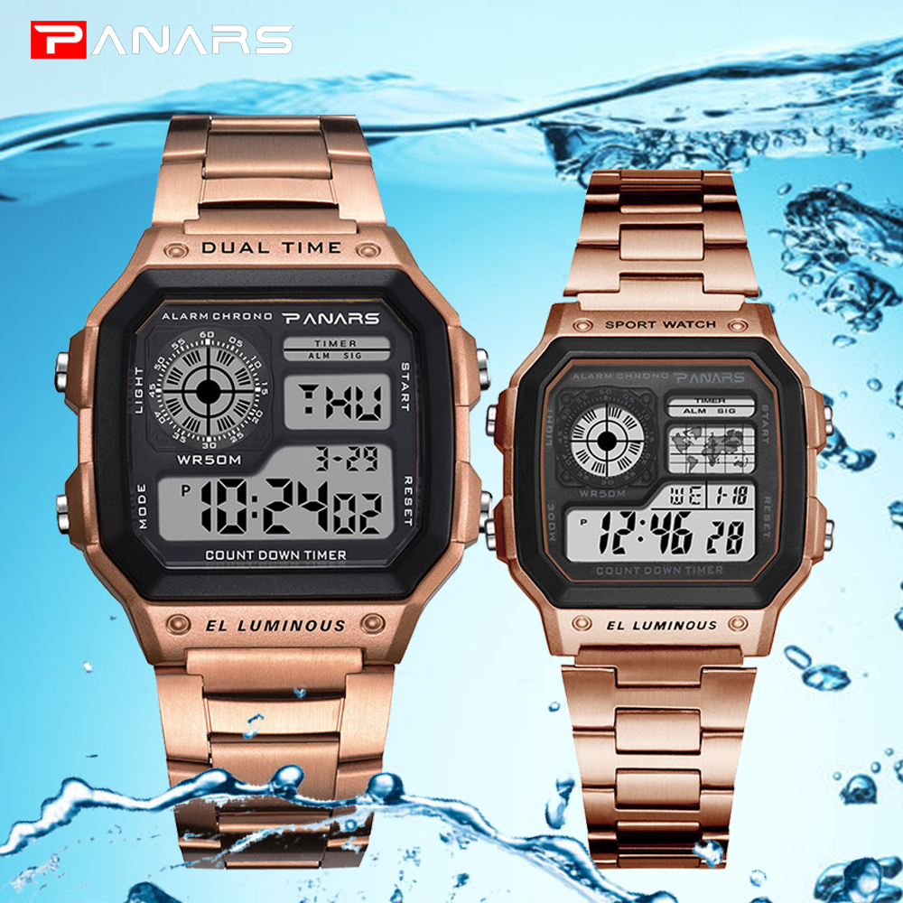 Sports Mens Watches Military Electronic Watch Men Waterproof S Shock Couple Wristwatches G Style Digital Watch Relogio Masculino