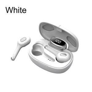 Image 5 - CYKE yeni akıllı kablosuz TWS Bluetooth kulaklık çeviri kulaklık dijital ekran güç şarj depo spor kulaklıklar