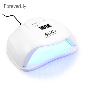 Image 2 - SUN X 54W LED Lamp Nail Dryer 36 LEDs UV Ice Lamp For Drying Gel Polish Auto Sensor 10/30/60/99s Timer Manicure Tools