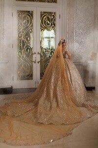 Image 2 - Eslieb robe de mariée brillante sur mesure, robe de mariage, 2020