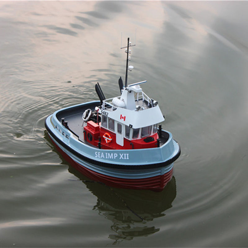 50CM 1:20 SEAMIP (Fraser River) Tugboat Model Jacket Double-shot Simulation Dynamic Remote Control Children's Birthday Gift