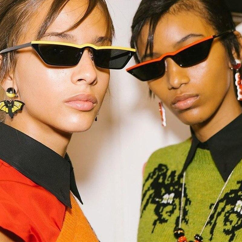 Vintage Cat Eye Sunglasses Women Fashion Small Frame Sun Glasses Ladies Retro Personality Eyeglasses UV400