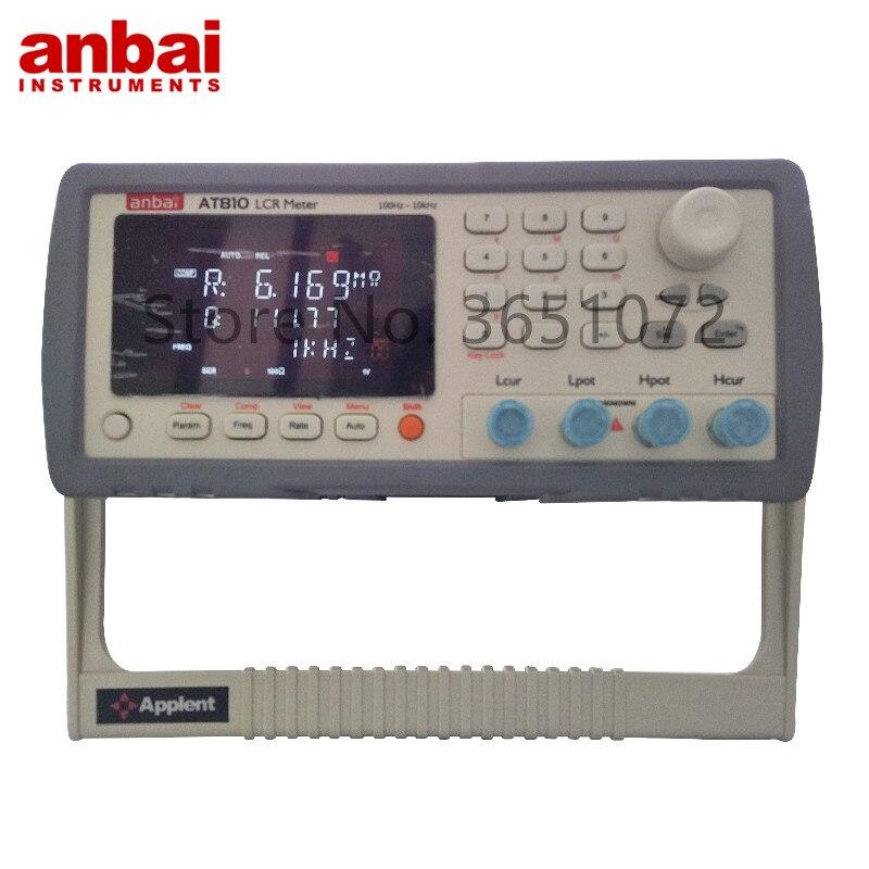 Medidor com Precisão Digital Alta Esr Medidor At810 Lcr 0.1%
