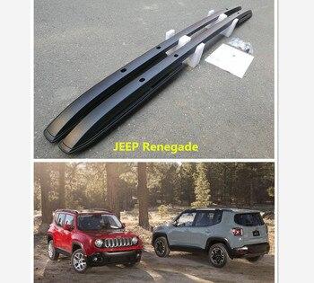 Pour JEEP Renegade 2016 2017 2018 2019 barres de toit porte-bagages haute qualité en aluminium vis Installation Auto accessoires