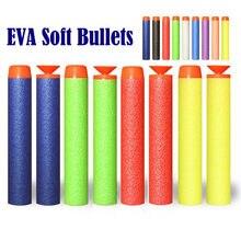 EVA – balles souples de 100 cm, 7.2 pièces, fléchettes de recharge pour tête de Nerf creuse, jouet d'extérieur pour garçon, série blaster, cadeaux pour enfants