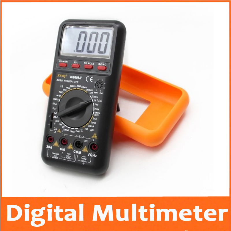 True RMS Digital Multimeter Avometer DCV ACV DCA ACA Resistance Inductance,Capacitance Frquency And Temperature TEST