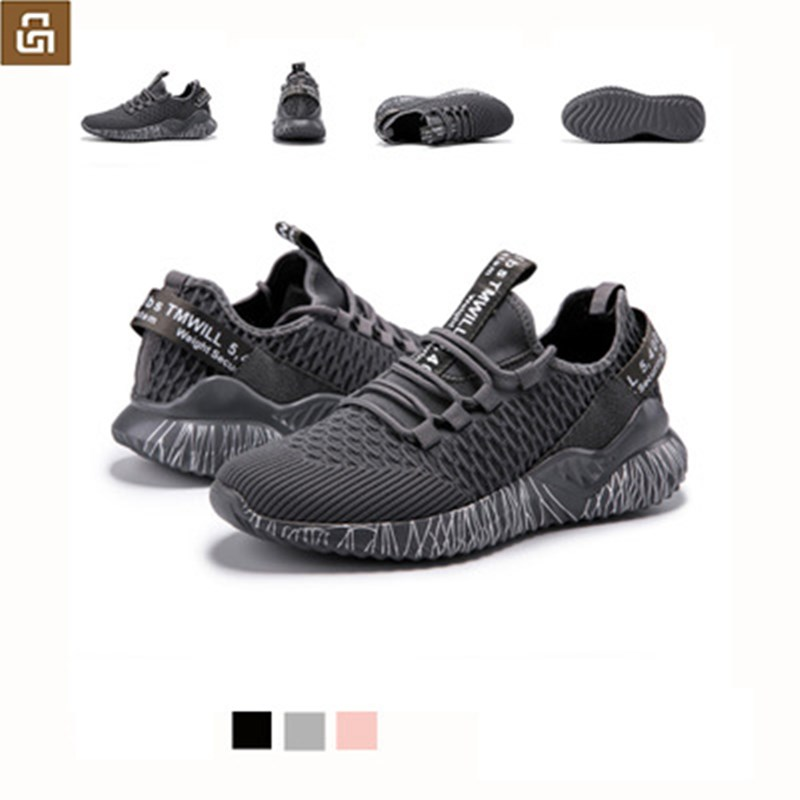 XiaoMi Mijia Sneakers Sport shoes Sneaker For Men Running Lightweight Breathable 4D Fly Woven Upper Washable Smart