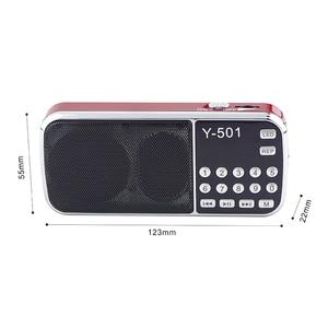 Image 3 - New Hot Portable Radio High Power MP3 Player Digital Audio Music Player with LED Flashlight