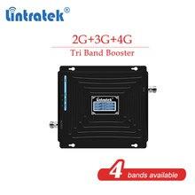 CDW 850 1800 2100 2G 3G 4G 트라이 밴드 GSM 900 2G 3G 1800 4G 850mhz DCS 셀룰러 부스터 리피터 휴대 전화 신호 증폭기 s8