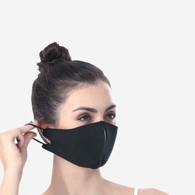 6Pcs reusable mask summer high quality Ice Silk Cotton mascarillas antidust masks washable mouth caps facial masks flu Face mask 5