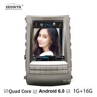 Tesla Style Android 6.0 10.1 Inch Car Radio For Fit HYUNDAI VERACRUZ Ix55 Navigation Gps Multimedia wifi interne