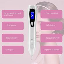 Portable Lcd Screen Charging Remove Mole Pen Beauty Scanning Spot Meter Small White Spot Pen Micro-Sweep Pen(China)