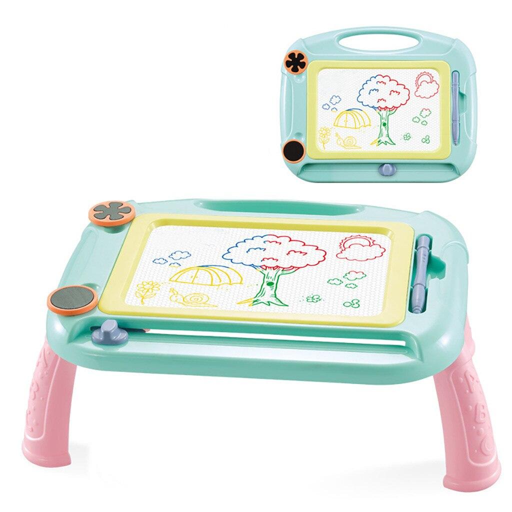 Многофункциональная магнитная доска для рисования большого размера, настольная игрушка для рисования, игры для девочек, учебный стол для п...