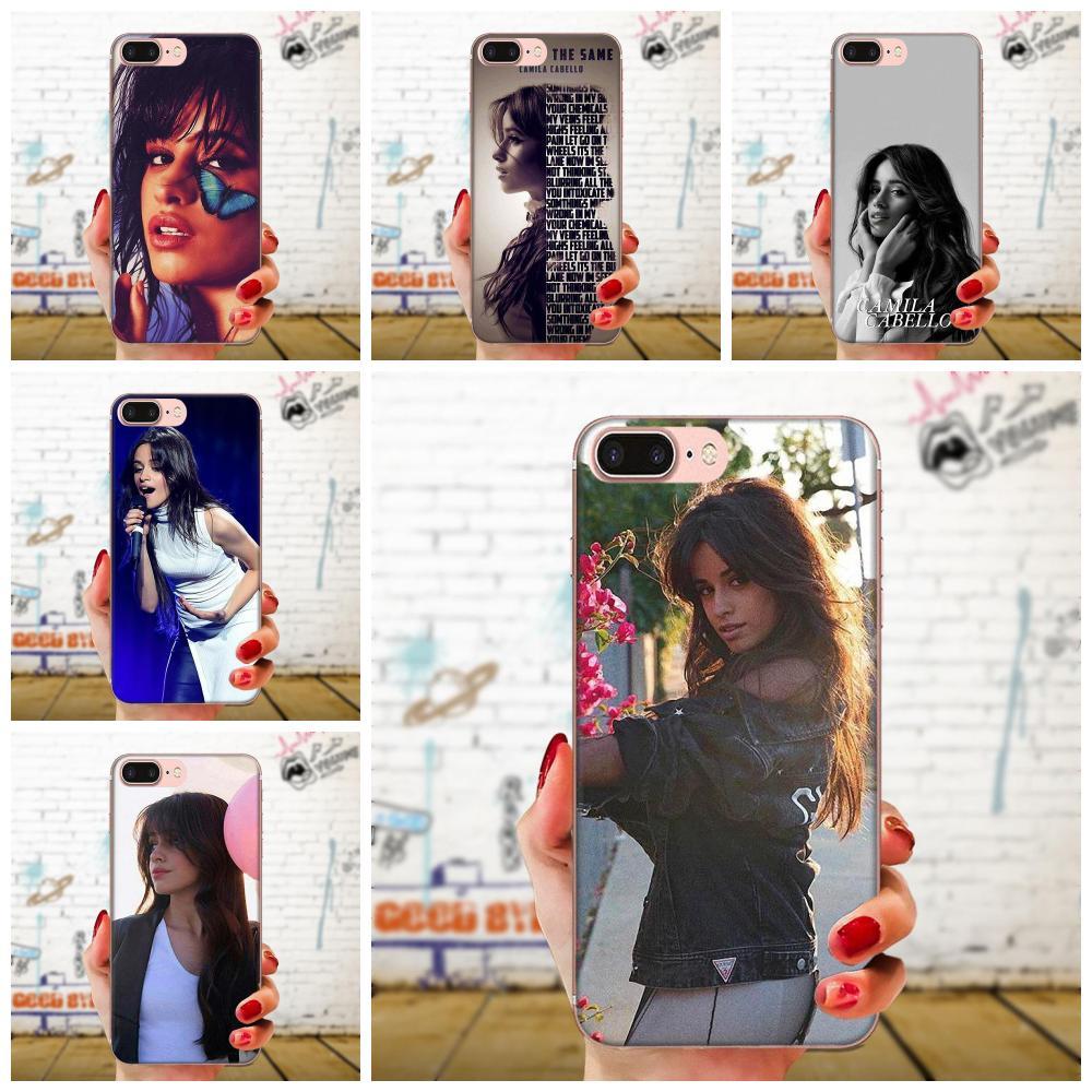 For LG K50 Q6 Q7 Q8 Q60 X Power 2 3 Nexus 5 5X V10 V20 V30 V40 Q Stylus TPU Mobile Phone Camila Cabello