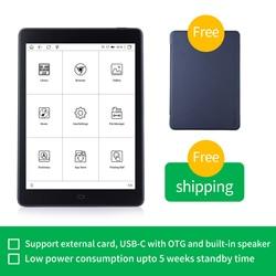 Likebook P78 7,8 дюймов Android для чтения электронных книг 2G/32GB плоский дизайн панели с SD карты до 256 Гб чтения электронных книг