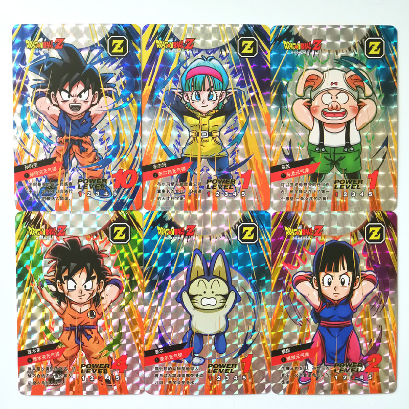55pcs/set Super Dragon Ball Z SEC/UR Heroes Battle Card Ultra Instinct Goku Vegeta Game Collection Cards Free Shipping