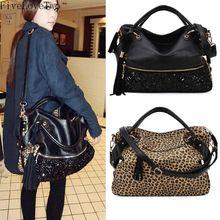 FiveLoveTwo WomenS Handbags Satchel Bag Fashion Tote Messenger Leather Purse Shoulder Handbag Hobo sac