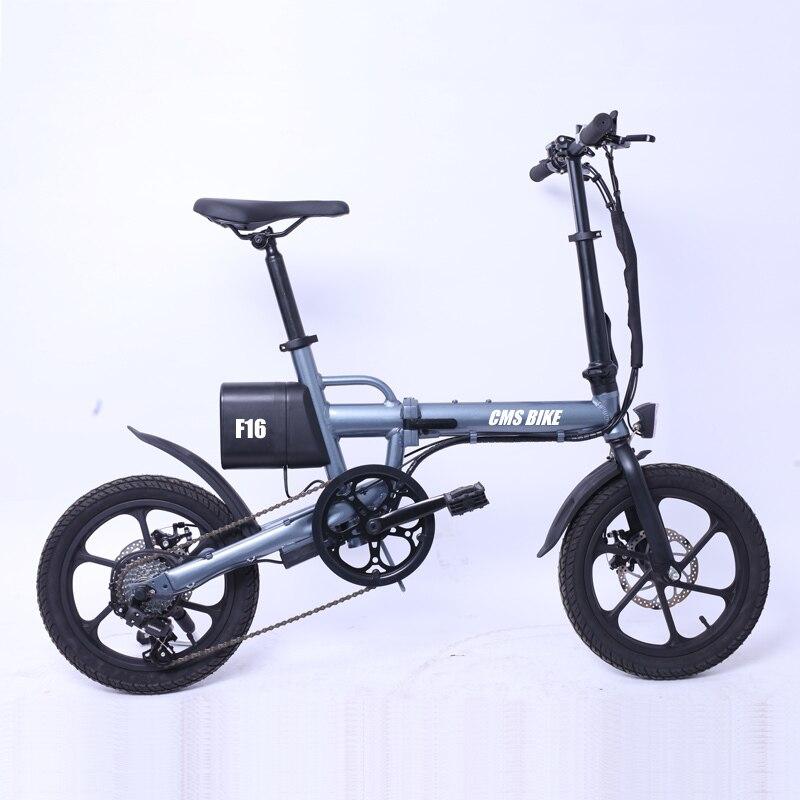 aluminum frame material foldable electric bike 16 inch foldable ebike variable speed electric bicycle 1