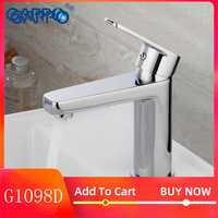 GAPPO water mixer bathroom basin sink faucet brass bathroom mixer taps modern bathroom faucet chrome basin mixer tap G1098D