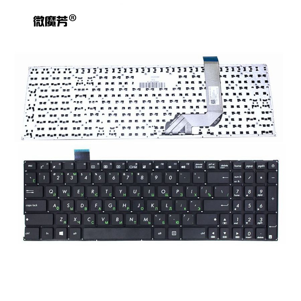Russian Notebook Keyboard For ASUS VivoBook X542BA X542B X542U X542UR X542UQR X542UN X542UF X542UA X542UQ RU Laptop Keyboard