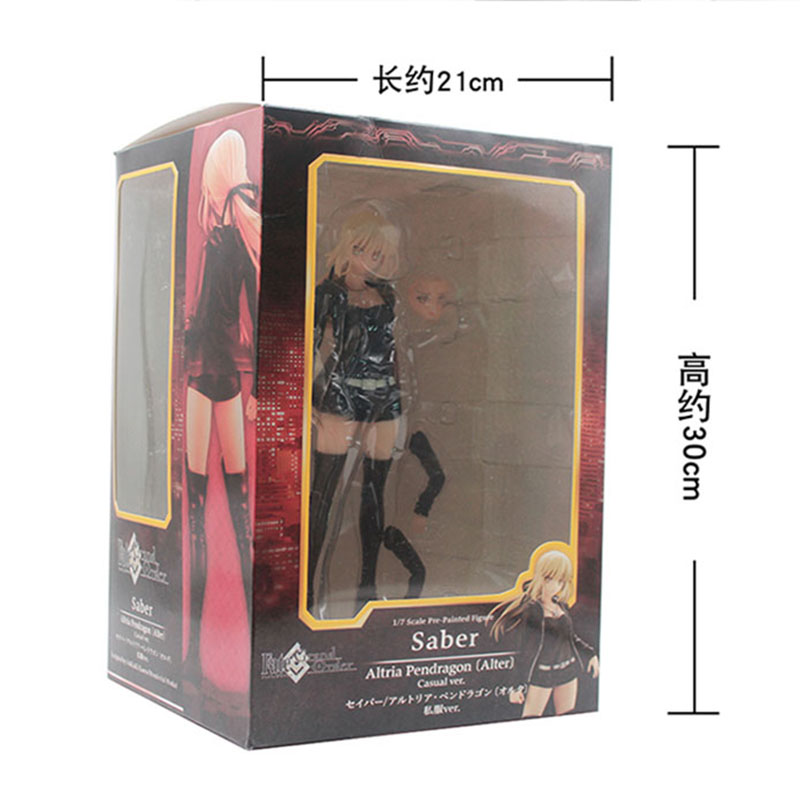 Image 5 - Fate Grand 24cm Altria Pendragon saber Fate stay night PVC Action Figures toys collectible model Toy For Kids childrenAction & Toy Figures   -