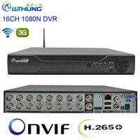 CCTV DVR H.265+ 16CH 1080N 6 in 1 Video Recorder Hybrid wifi 3G XMEYE P2P Cloud HDMI for 1080P AHD Tvi Cvi Analog Ip Camera