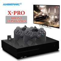 ANBERNIC XPRO PS1 Video Game Console 64Bit 4K TV HDMI Output 800 Family Game 43 PS1 Game 2 Gamepad X Pro Retro Video Game Player