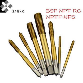 Free Shipping Thread Forming Tap HSSco Thread Forming Tap, Flow Tap BSP G1/8 ZG Z NPT PT RC1/4 3/8 1/2 3/4 Machine Extrusion Tap