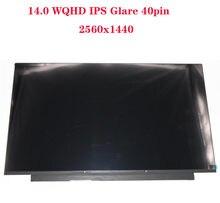 T490 é adequado para ThinkPad 20N2 20N3 painel LCD tela LCD 2560X1440 LPM140M420 B140QAN02.0 00NY679 01YU646 00NY680