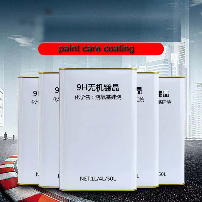 1L 9H Ceramic Car Coating Liquid Super Hydrophobic Glass Coating Glass High Density Nano Ceramic Car Paint Care