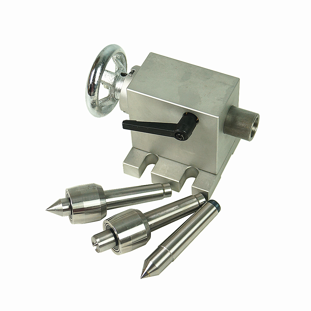CNC tailstock activity Tailstock A B C 4 Axis MT2 Rotary Axis Lathe Engraving Machine Chuck CNC Router Engraver Milling Machine