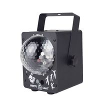 RGB LED Crystal Disco Magic Ball With 60 Patterns RG Laser Projector DJ Party Holiday Bar Christmas DMX Stage Lighting Effect rgb led water wave rg stage laser northern lights effective dj lighting