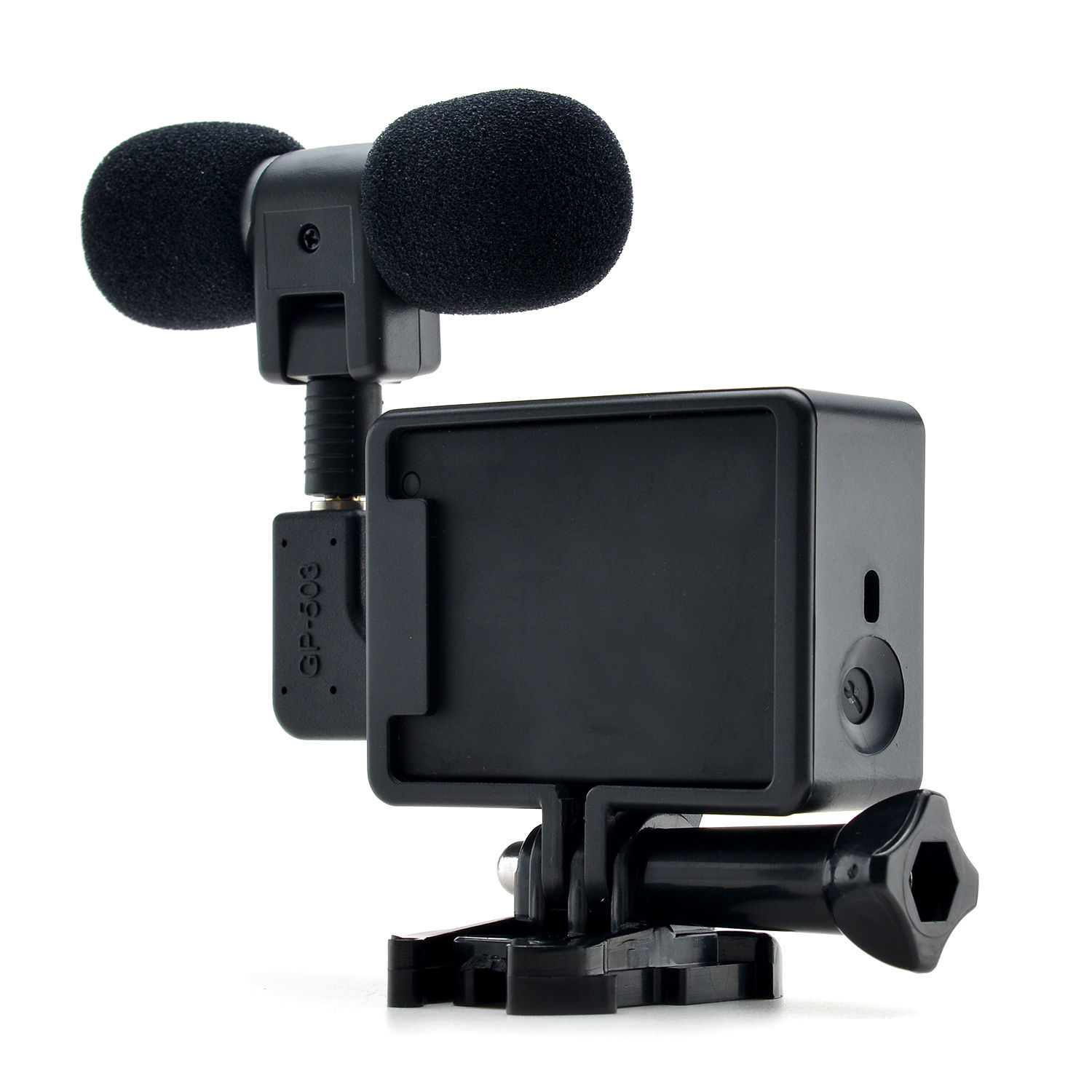 Go Pro Accessories Mini Go Pro Microphone Stereo Noise Reduction Loudspeaker For GoPro 3-3 + 4