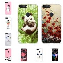 For Alcatel 1S 2019 Phone Case Ultra-slim Soft TPU Silicone 1s Cover Cute Cat Patterned alcatel Bumper Funda