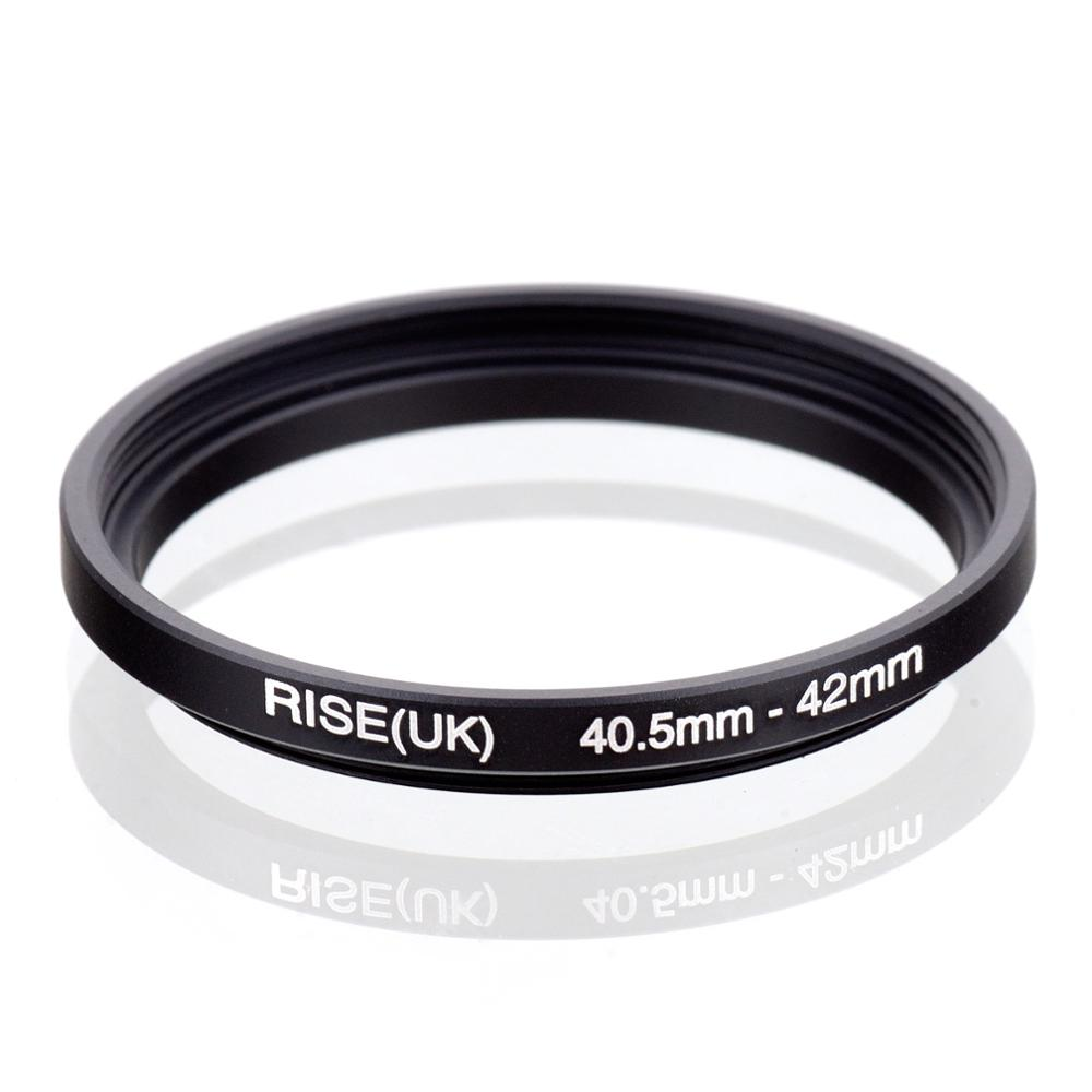 RISE(UK) 40.5mm-42mm 40.5-42 Mm 40.5 To 42 Step Up Filter Ring Adapter
