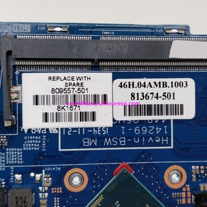 Image 3 - Подлинная материнская плата для ноутбука 809557 501 809557 001 UMA w PenN3700 для HP Pavilion x360 Convertible 11 11 K 11T K000