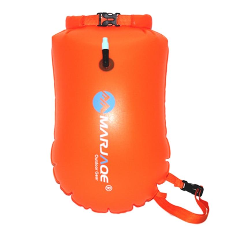 Marjaqe 20L Outdoor Waterproof Bag Anti-Snoring Swimming Float Ball Drifting Storage Bag Kayak Drying Bag